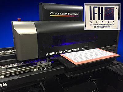 Direct Jet UV LED Inkjet printer