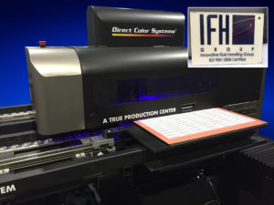 The IFH Group West has improved the quality of its printing, cut its costs and improved lead times with the DCS® Direct Jet UV LED Inkjet printer.