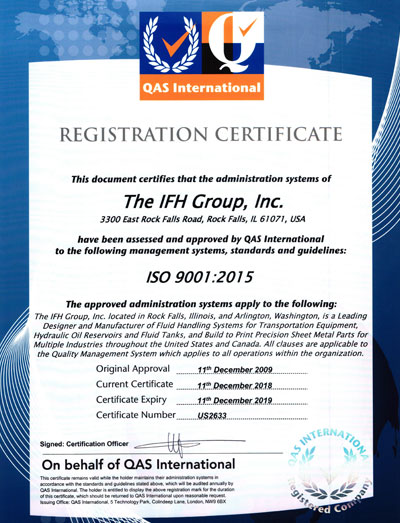 IFH-ISO9001-2015certificate